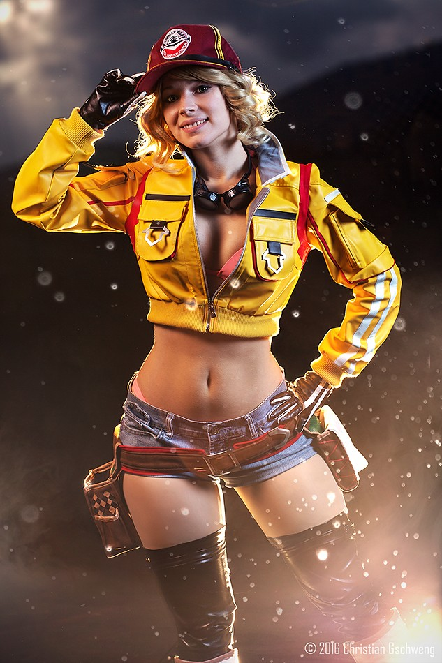 Cindy Cosplay From Final Fantasy XV