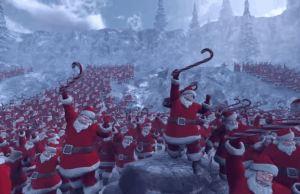 Santas vs Penguins