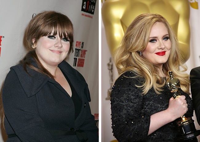 Adele-before-and-after