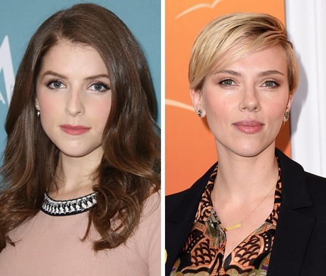 Anna Kendrick and Scarlett Johansson