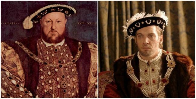 King Henry VIII in 'The Tudors'