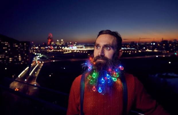 Beard Christmas Lights