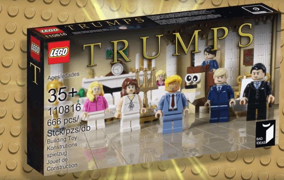 Trumps Lego Spoof Set