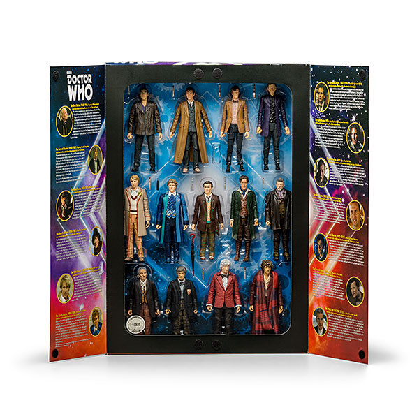 Doctor Who Action Figure Set
