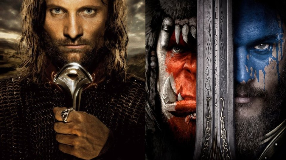 LOTR: RETURN OF THE KING and WARCRAFT