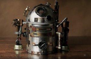 R2-D2 Steampunk Teapot