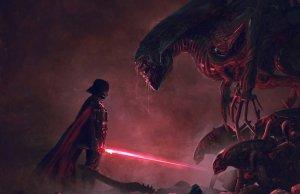 Darth Vader Vs. Xenomorph