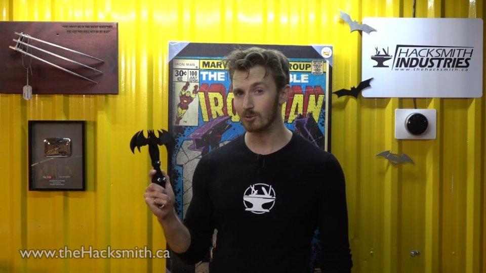 Working BATMAN Grappling Hook