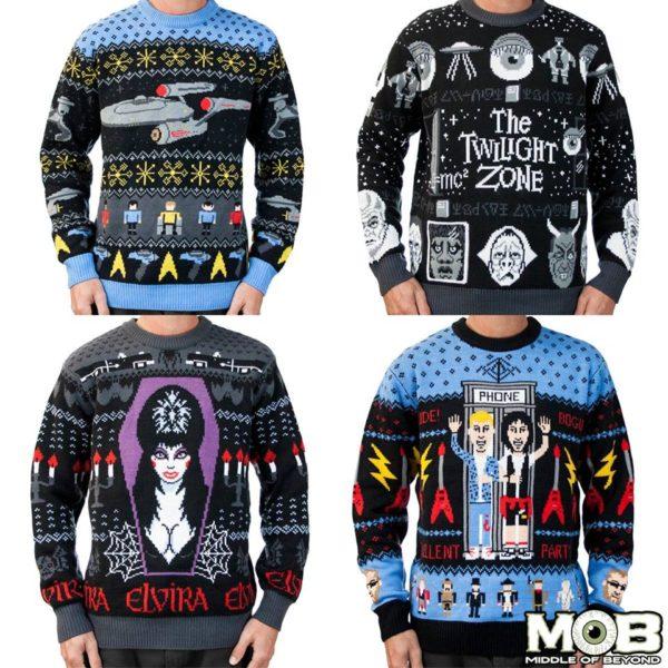 Geek Culture Christmas Sweaters