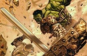 Planet Hulk's Sakaar