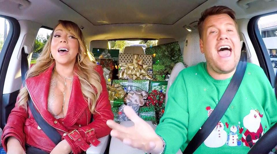 Carpool Karaoke Christmas Special With Mariah Carey