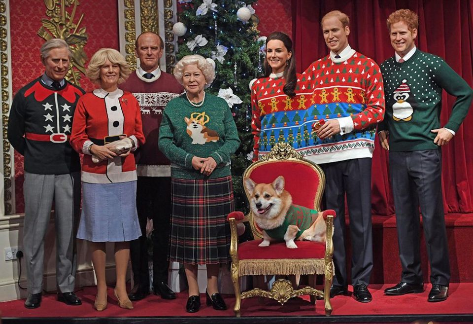 Royal Family Wearing The Most Ugly Christmas Sweaters