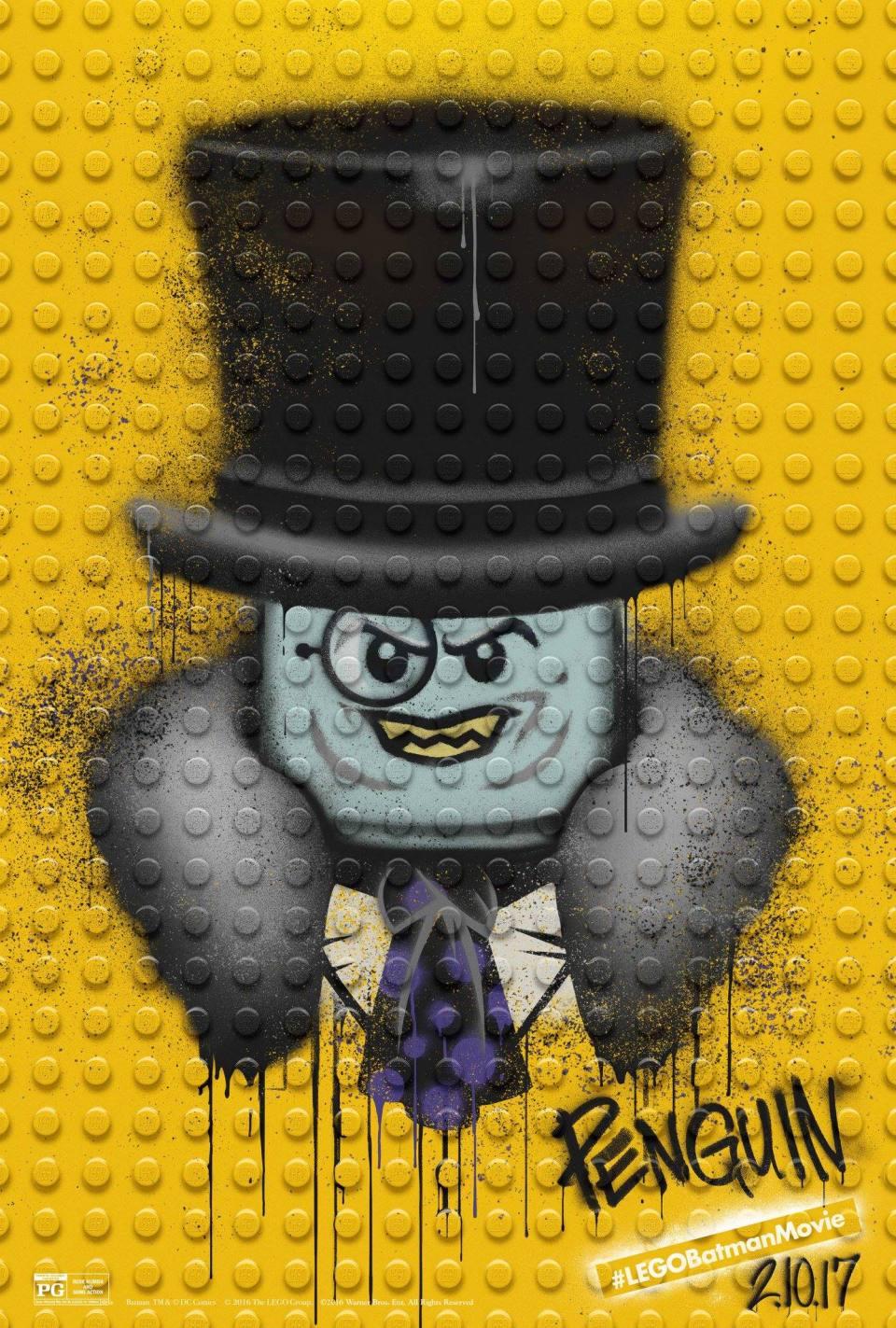 Batman Movie Character Posters