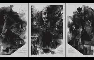 Christopher Nolan's DARK KNIGHT Trilogy Poster Art