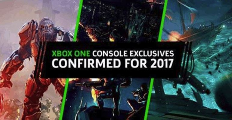 Exclusive Games Coming On Xbox One in 2017