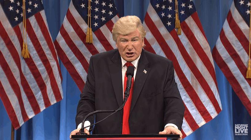 Alec Balwin portrayed Donald Trump