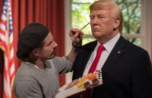 Life-Sized Donald Trump Waxwork