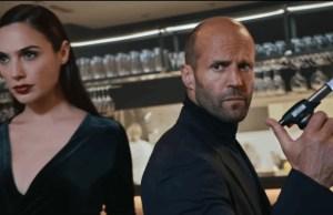 Gal Gadot and Jason Statham