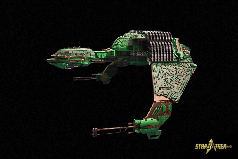 Klingon Bird-of-Prey Ship