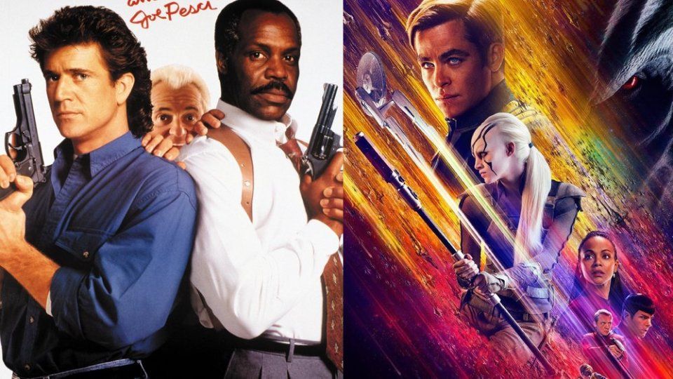 LETHAL WEAPON 3 and STAR TREK BEYOND