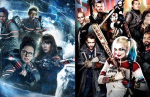 GHOSTBUSTERS and SUICIDE SQUAD