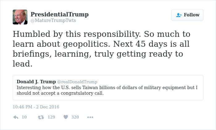 Trump's Tweets