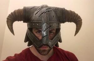 Skyrim Dragonborn Iron Helmet