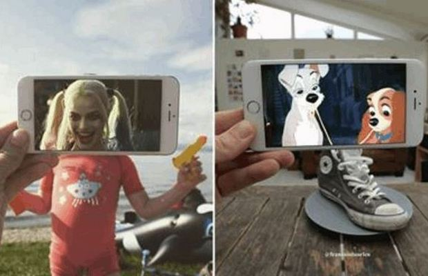 Movie Scenes Inserted Into Real Life
