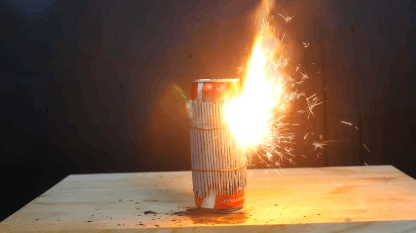 Coca Cola With Sparklers