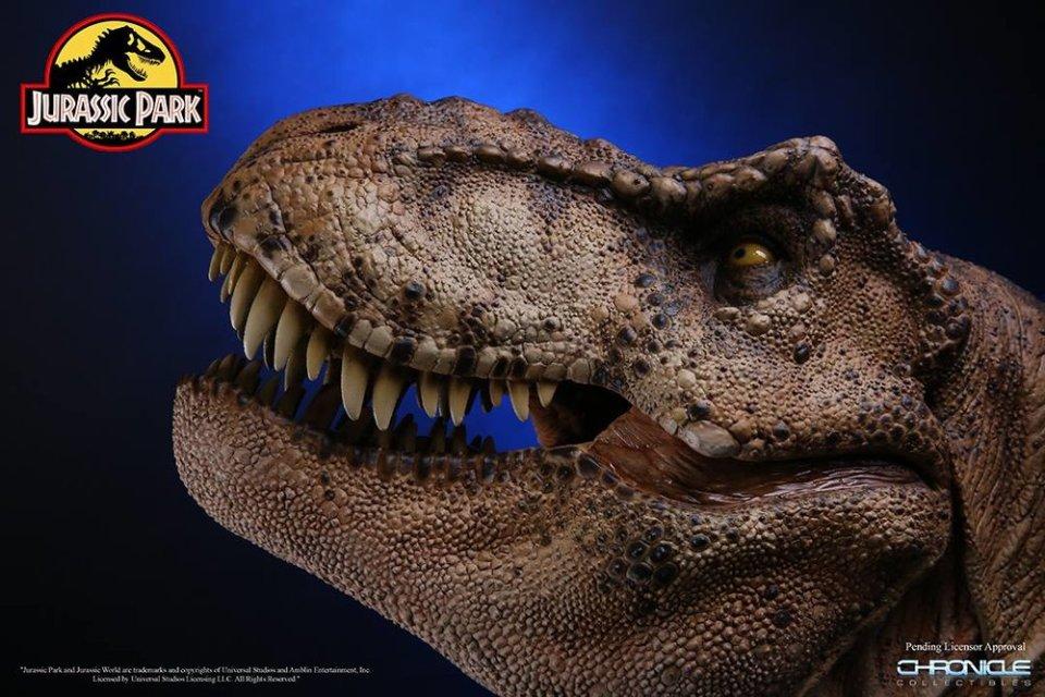 JURASSIC PARK T-Rex Bust