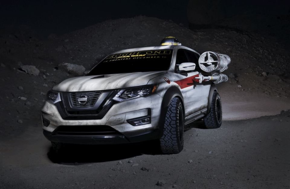 Nissan's Star Wars X-Wing Rogue SUV