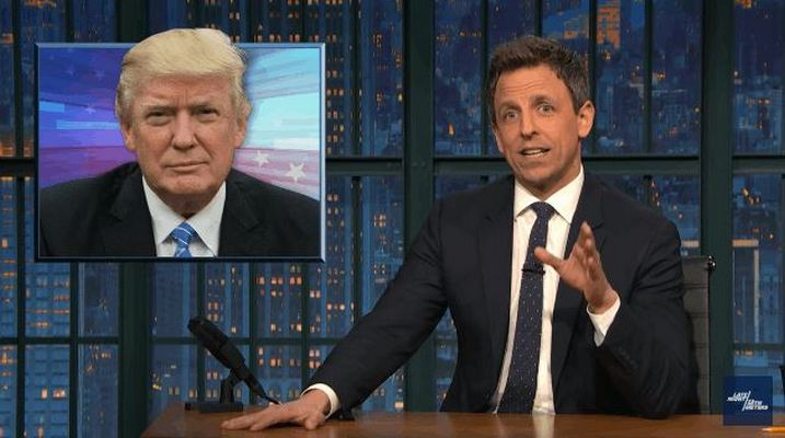 Seth Meyers Shreds Trump's 'Batsh*t Crazy' First Press Conference
