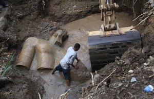 3000-Year-Old Pharaoh Ramses II Statue