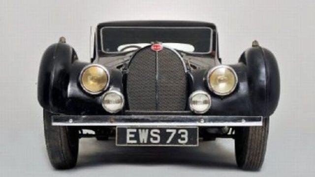 Art Deco Bugatti