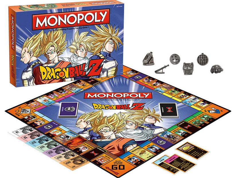 DRAGON BALL Z Collectible Monopoly