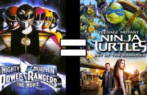 POWER RANGERS THE MOVIE and TMNT 2