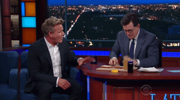 Gordon Ramsey -Stephen Colbert