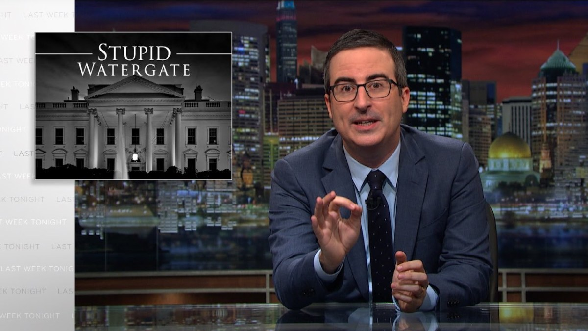 John Oliver Says This Isn't The End Of Trump
