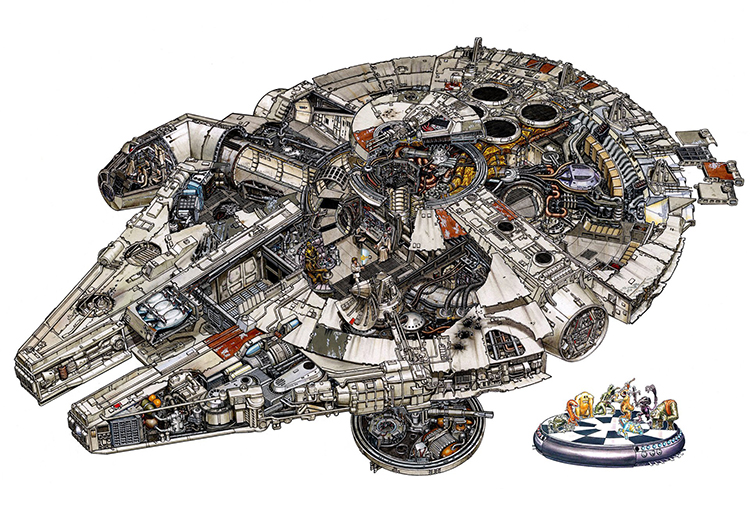 Star Wars Vehicles in Incredible Detail