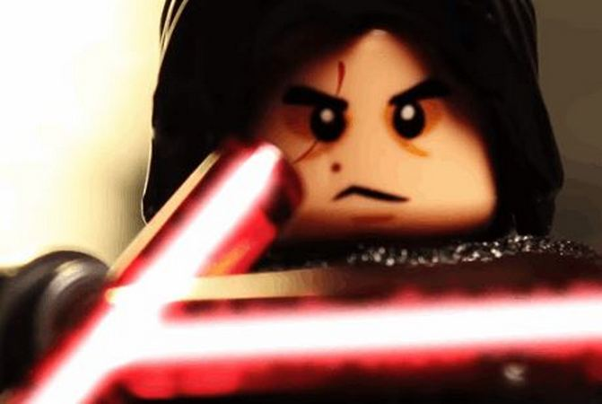 STAR WARS: THE LAST JEDI Trailer Made With LEGO