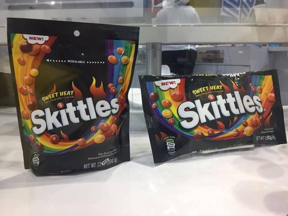 Spicy Skittles