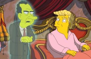 Donald Trump With Richard Nixon