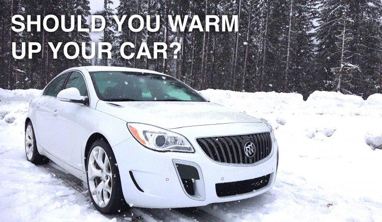 Warm-up-car-engine