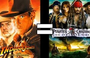 Indiana Jones 3 & Pirates of the Caribbean 4