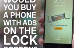Would You Accept Lock Screen Ads To Save Money?