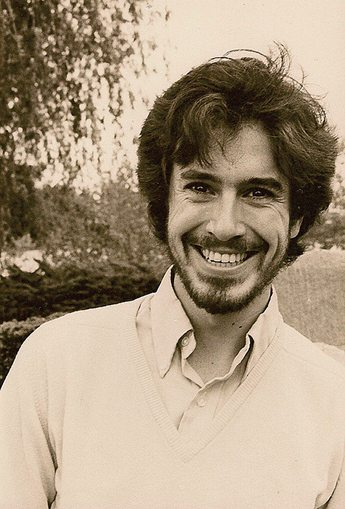 Young Stephen Colbert