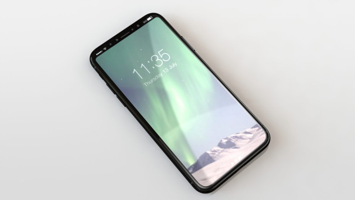 Latest iPhone 8 Renders Imagine a Seamless Status Bar