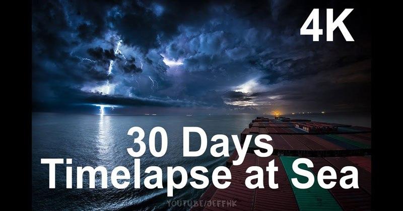 Timelapse at Sea