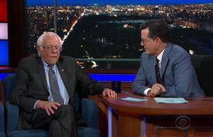 Stephen-Colbert-Bernie-Sanders
