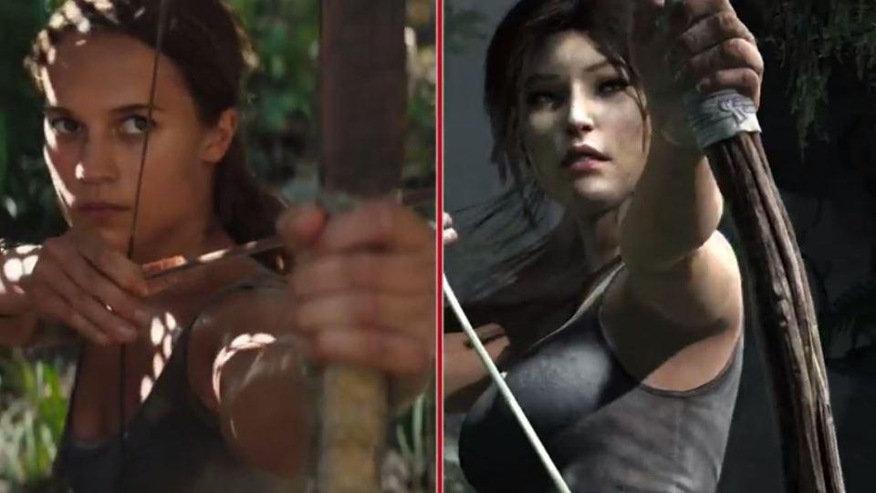 Tomb Raider: The Movie Vs. The Game
